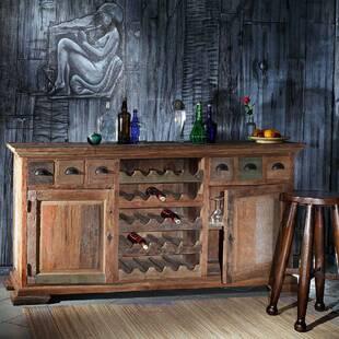 Буфет винный из массива дерева ценных пород Bahus Painted 200