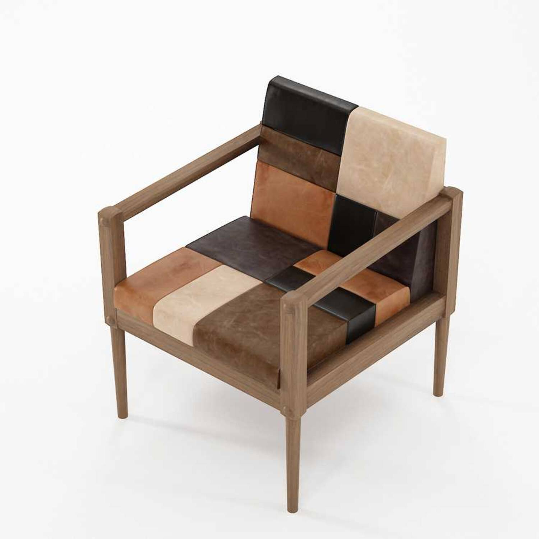 Кресло из массива дерева ценных пород Katchwork
