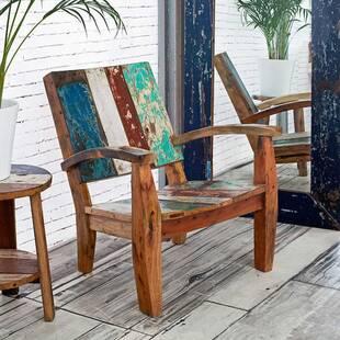 Кресло из массива дерева ценных пород Max
