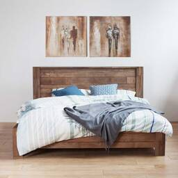 Кровать из массива дерева ценных пород Baker King