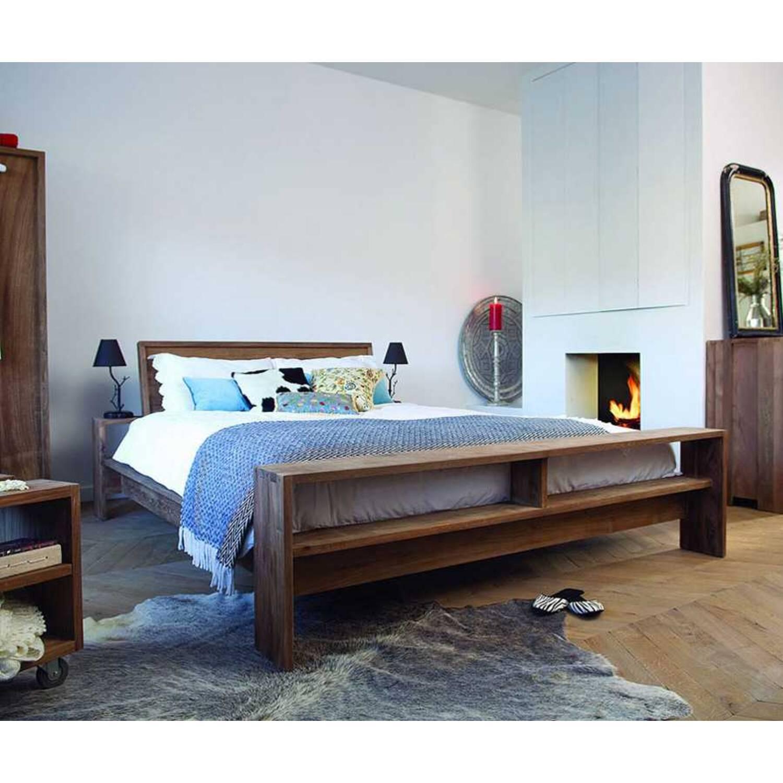 Кровать из массива дерева ценных пород Fiss King