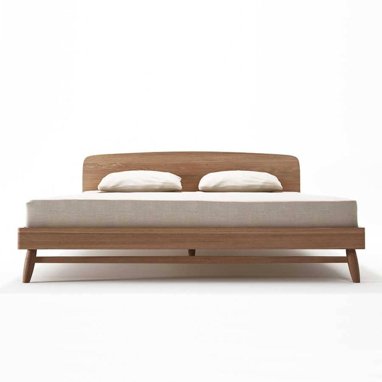 Кровать из дерева ценных пород Twist Queen