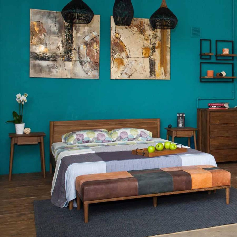 Кровать из дерева ценных пород Vintage Queen