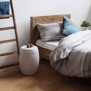 Односпальная кровать из массива дерева ценных пород Priuli grey