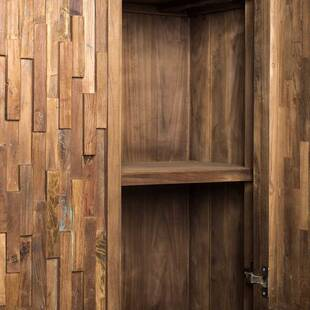 Шкаф бельевой из массива дерева ценных пород Lucy 2 двери