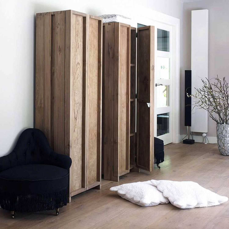 Шкаф платяной из массива дерева ценных пород Fiss 60