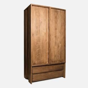 Шкаф платяной из массива дерева ценных пород Fissa 120 box