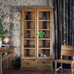 Шкаф витринный из массива дерева ценных пород Opium 118