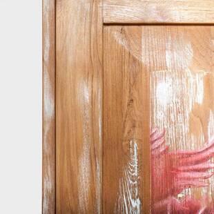 Шкаф витринный из массива массива дерева ценных пород Touch Tulip 60