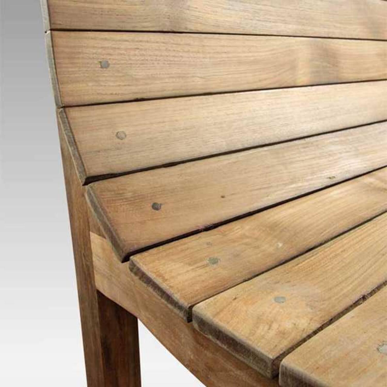 Скамья из массива дерева ценных пород Tiffany