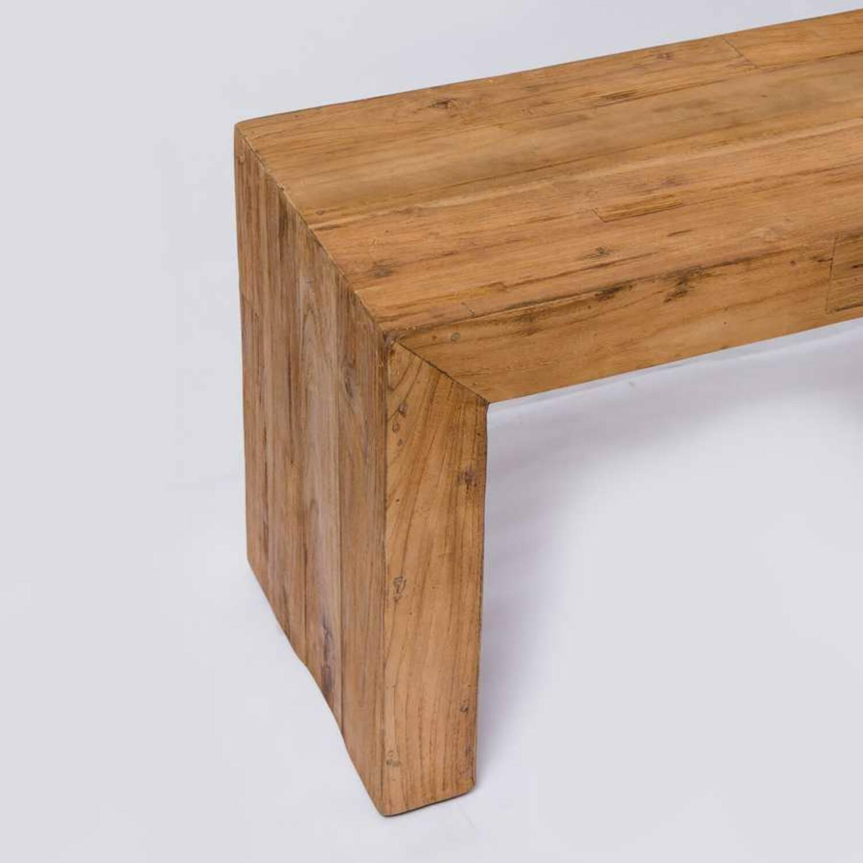 Скамья из массива дерева ценных пород Banda 100