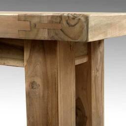 Скамья из массива дерева ценных пород Paolo