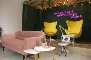 Мебель для салона красоты «Posh», Санкт-петербург