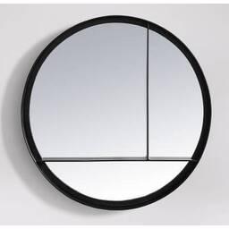 Дизайнерское зеркало Matt Iron Round