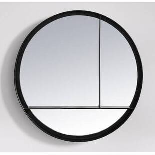 Зеркало Matt Iron Round