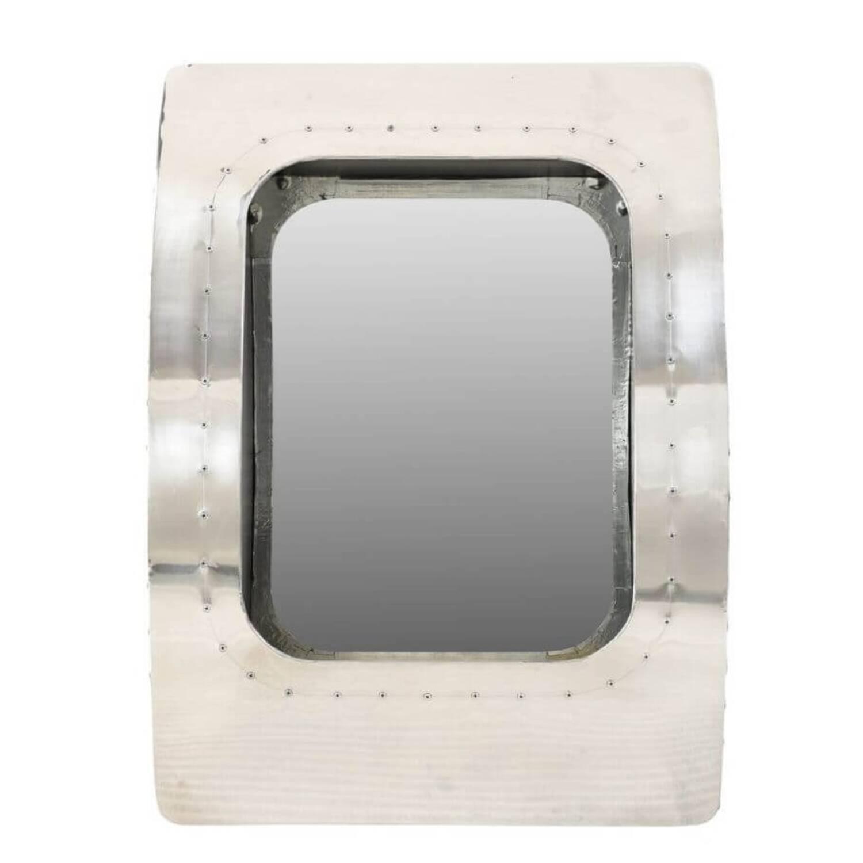 Дизайнерское зеркало PLANE WINDOW в стиле Авиатор