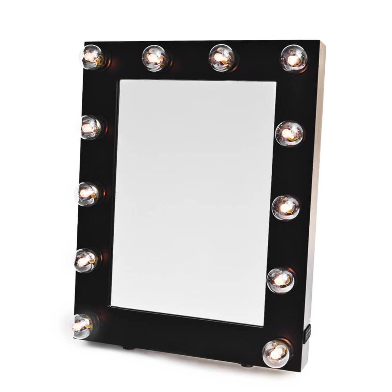 Дизайнерское зеркало Black makeup mirror
