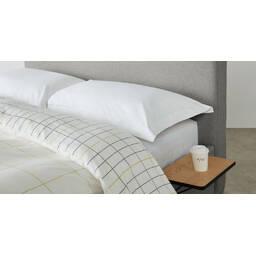 Кровать Besley на ножках, светло-серая