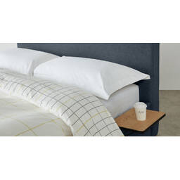 Кровать Besley с подъемным механизмом, синяя