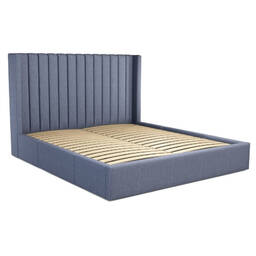 Кровать Cory с выдвижными ящиками для хранения, синяя