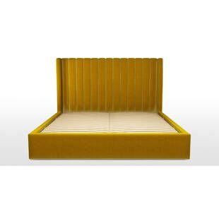 Кровать Cory с подъемным механизмом, желтая