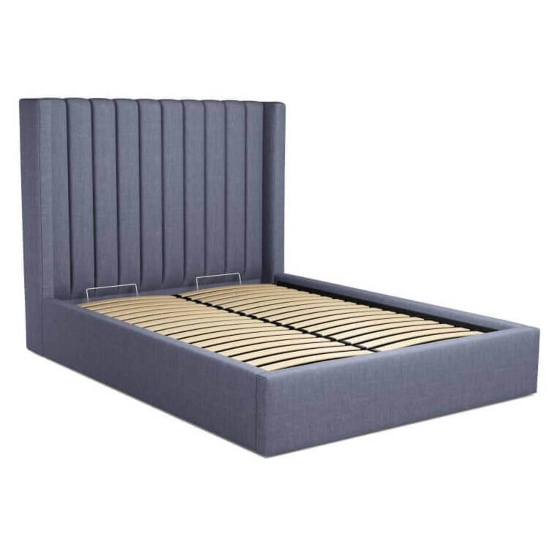 Кровать Cory с подъемным механизмом, синяя купить