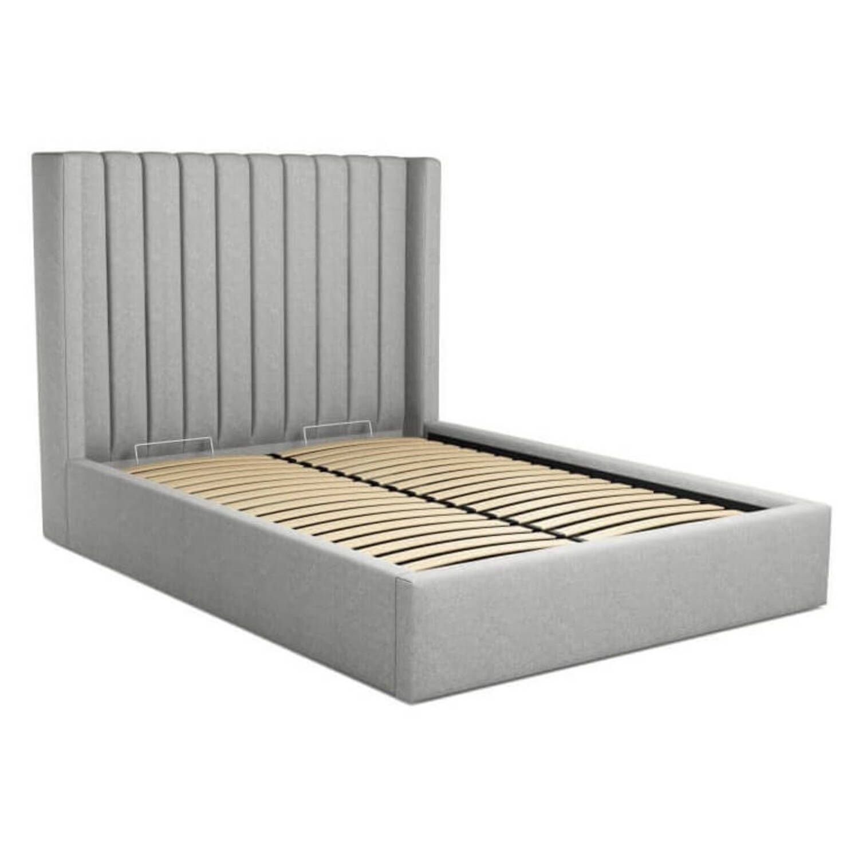 Кровать Cory с подъемным механизмом, серая купить