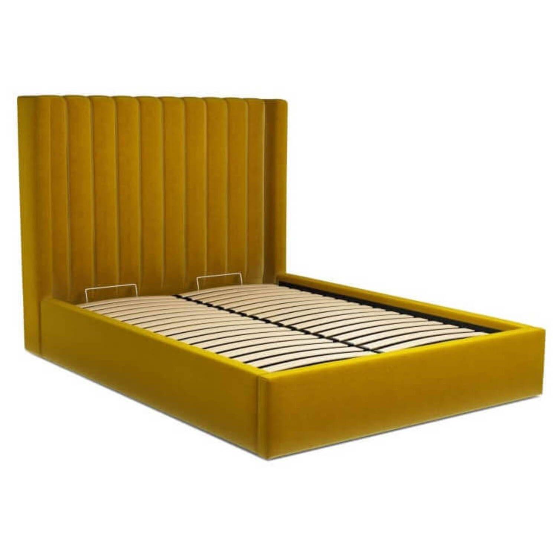Кровать Cory с подъемным механизмом, желтая купить