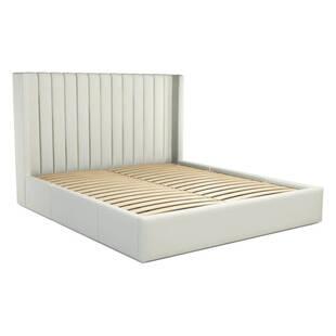 Кровать Cory с выдвижными ящиками для хранения, белая