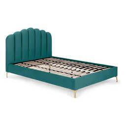 Кровать Delia, изумрудная