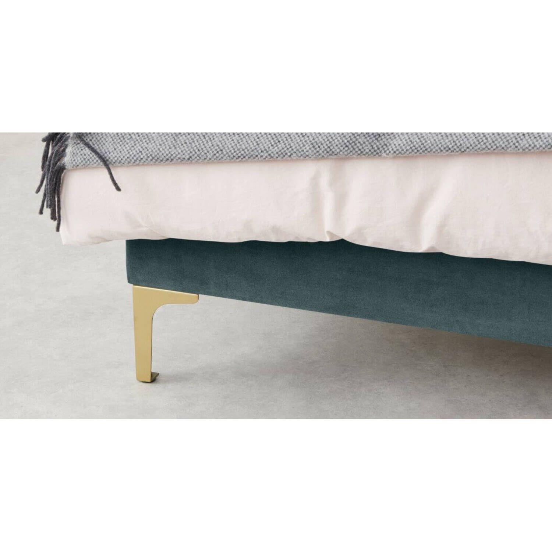 Кровать Delia, зеленая