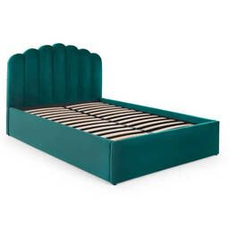 Кровать Delia с подъемным механизмом, зеленая