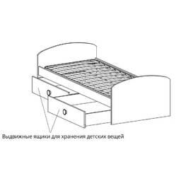 Детская дизайнерская кровать модели 0001