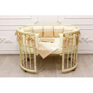 Кроватка модели Magic Dream 6 в 1 Ампир, слоновая кость