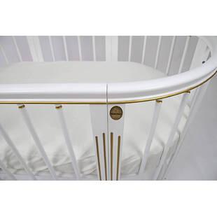 Кроватка модели Magic Dream 6 в 1 Ампир, белая