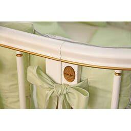 Детская дизайнерская кроватка модели Magic Dream 6 в 1 Ампир, белая