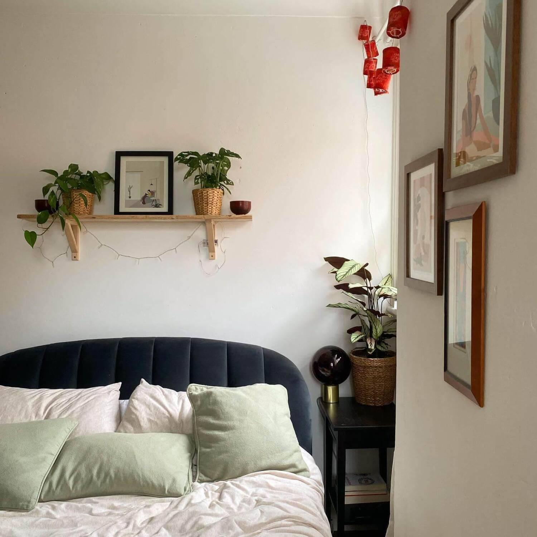 Кровать Margot, синяя