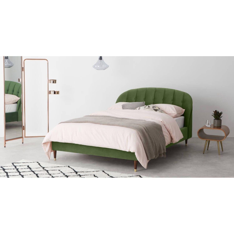 Кровать Margot, зеленая