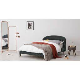 Кровать Margot, серая