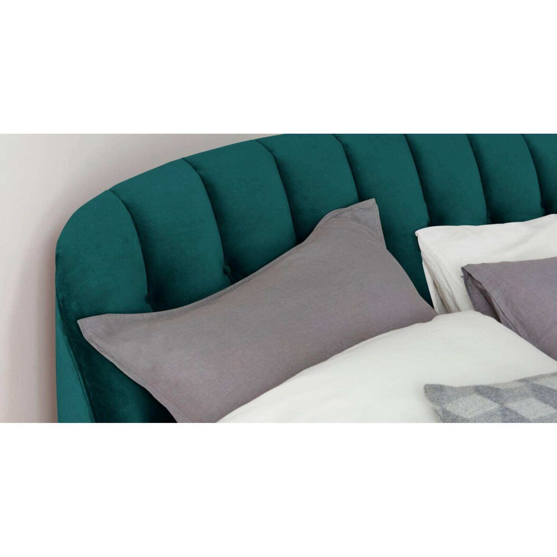 Кровать Margot, бирюзовая