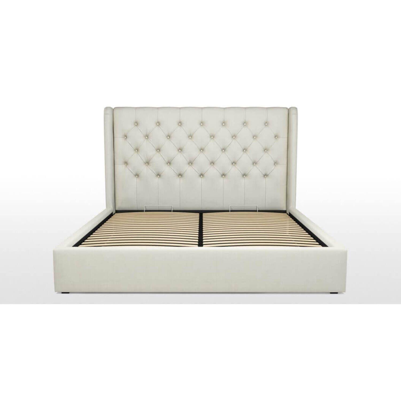 Кровать Romero с подъемным механизмом, белая