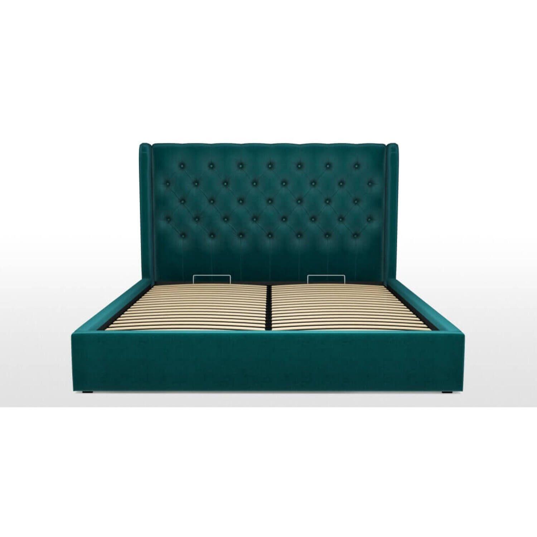 Кровать Romero с подъемным механизмом, бирюзовая купить