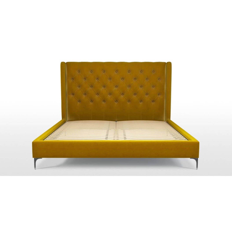 Кровать Romero на ножках, желтая купить