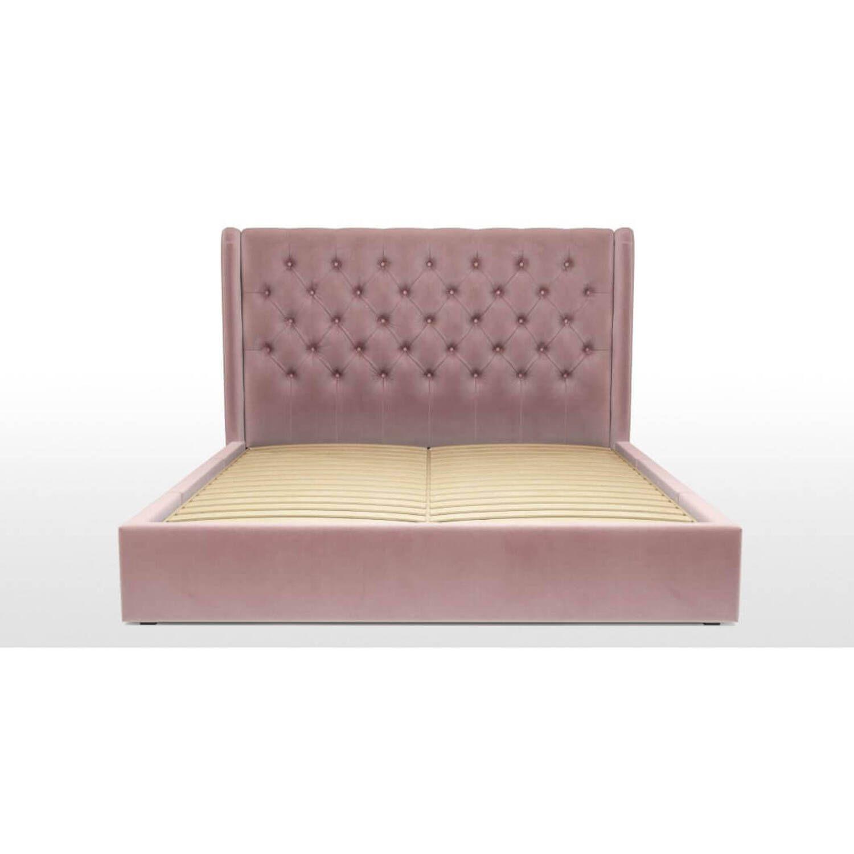 Кровать Romero с ящиками для хранения, розовая