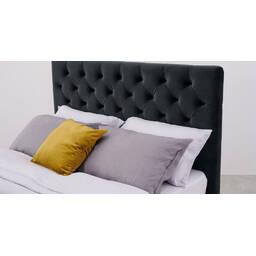 Кровать Skye с ящиками для хранения, черная