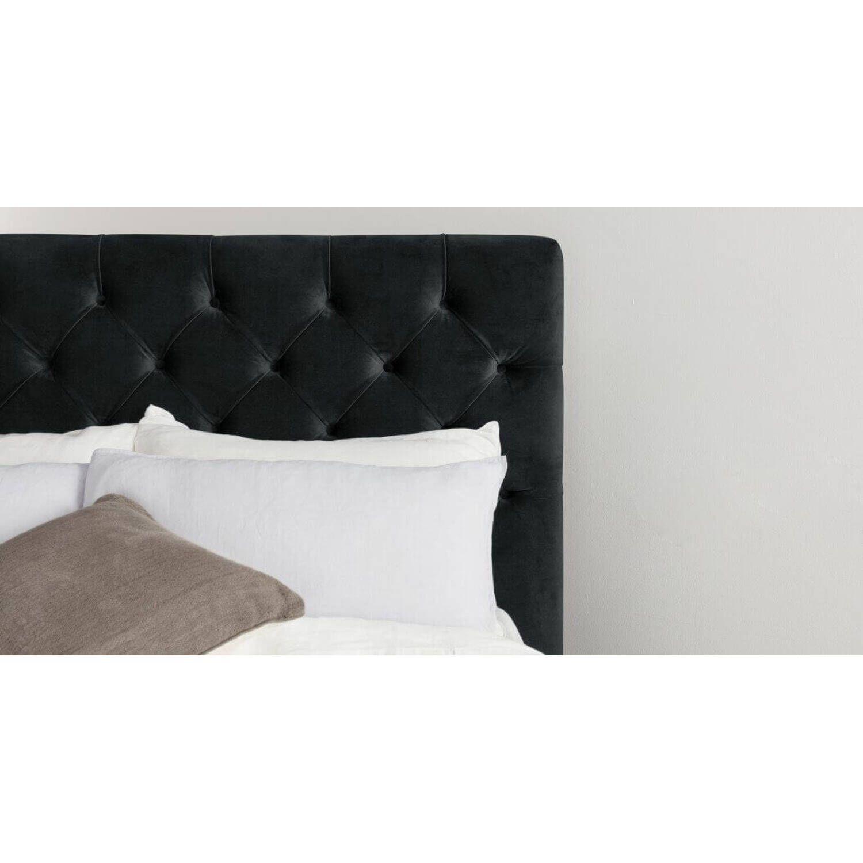 Кровать Skye с подъемным механизмом, черная