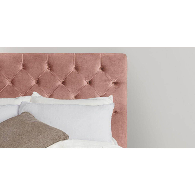 Кровать Skye с подъемным механизмом, розовая
