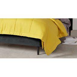Кровать Skye на деревянных ножках, черная купить