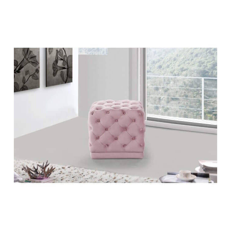 Пуф Chamois, розовый