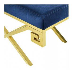 Пуф Gold greek, синий